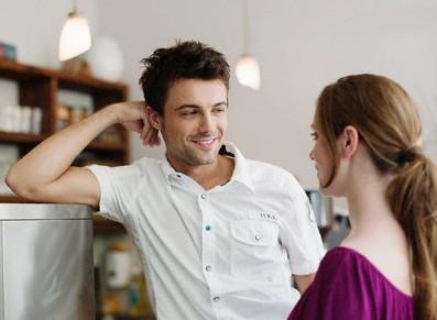 flirter avec un homme